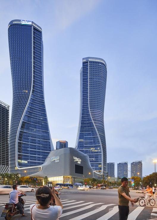 Raffles City Hangzhou; Hangzhou, China / UN Studio. Image © Hufton+Crow