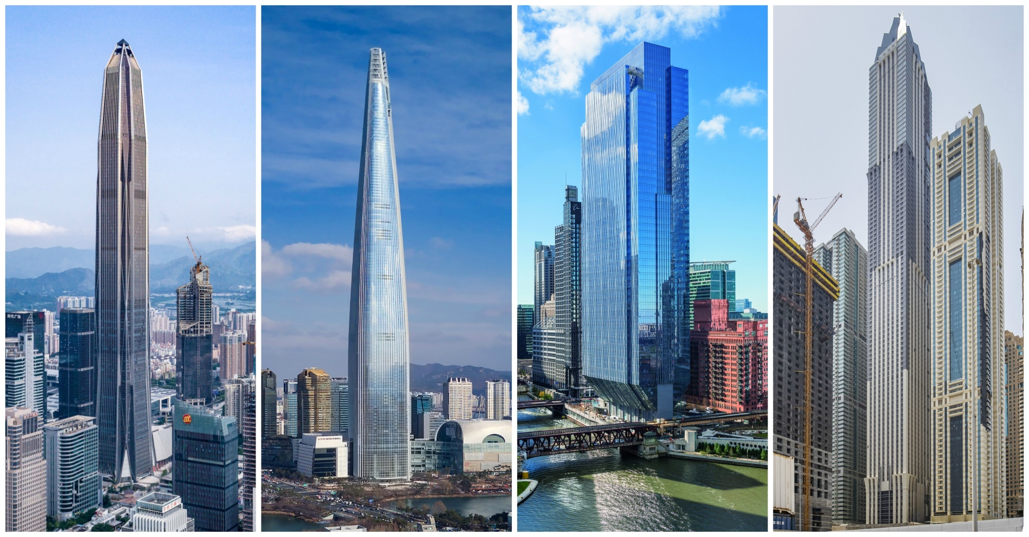 The Results Are In 2017 Was Another Record Breaking Year For Skyscrapers Courtesy