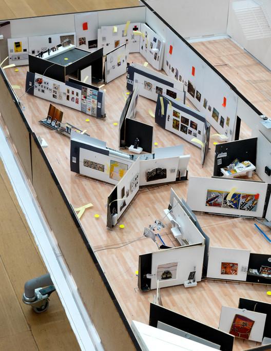 Stedelijk BASE model. Image Courtesy of OMA