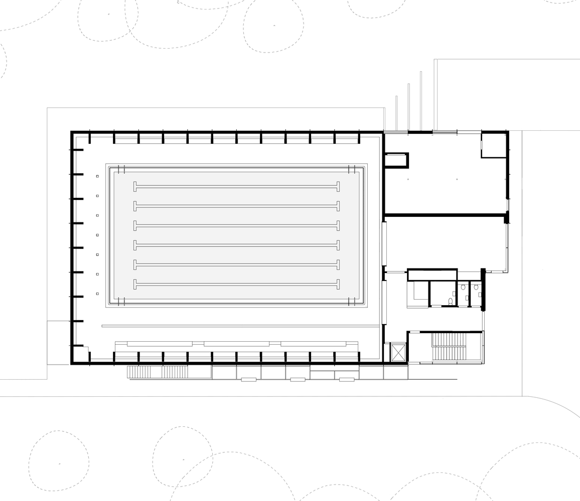Freemens School Swimming PoolUpper Ground Floor Plan