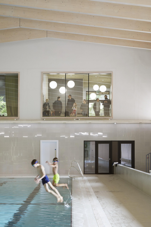 Gallery Of Freemens School Swimming Pool HawkinsBrown
