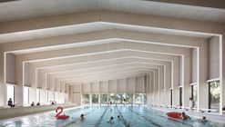 Piscina de la escuela Freemen / Hawkins\Brown