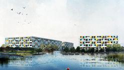 CC+RR gana concurso de proyecto residencial de integración social en la Ciudad Parque Bicentenario en Chile