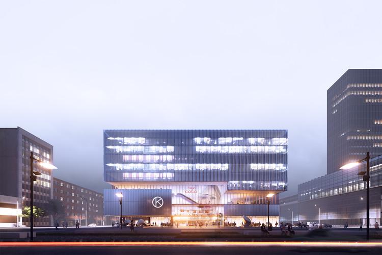 Bakpak Architects gana concurso internacional del diseño de nuevas oficinas de Kaubamaja en Estonia, Cortesía de Bakpak Architects