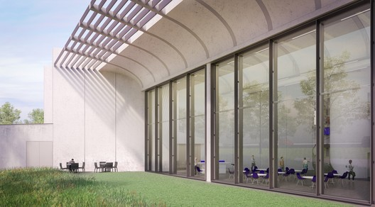 Renderings of the project. Image Courtesy of Rogers Stirk Harbour + Partners