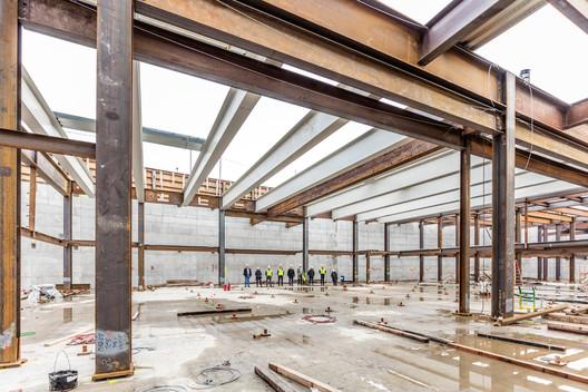 Future TWA Hotel Grand Ballroom. Image © Max Touhey