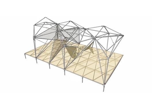 Pavilion Axonometric