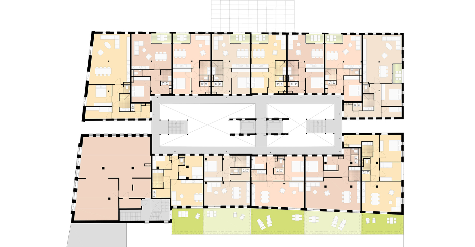 Gouda Cheese Warehouse Loft Apartments,Floor Plan 1