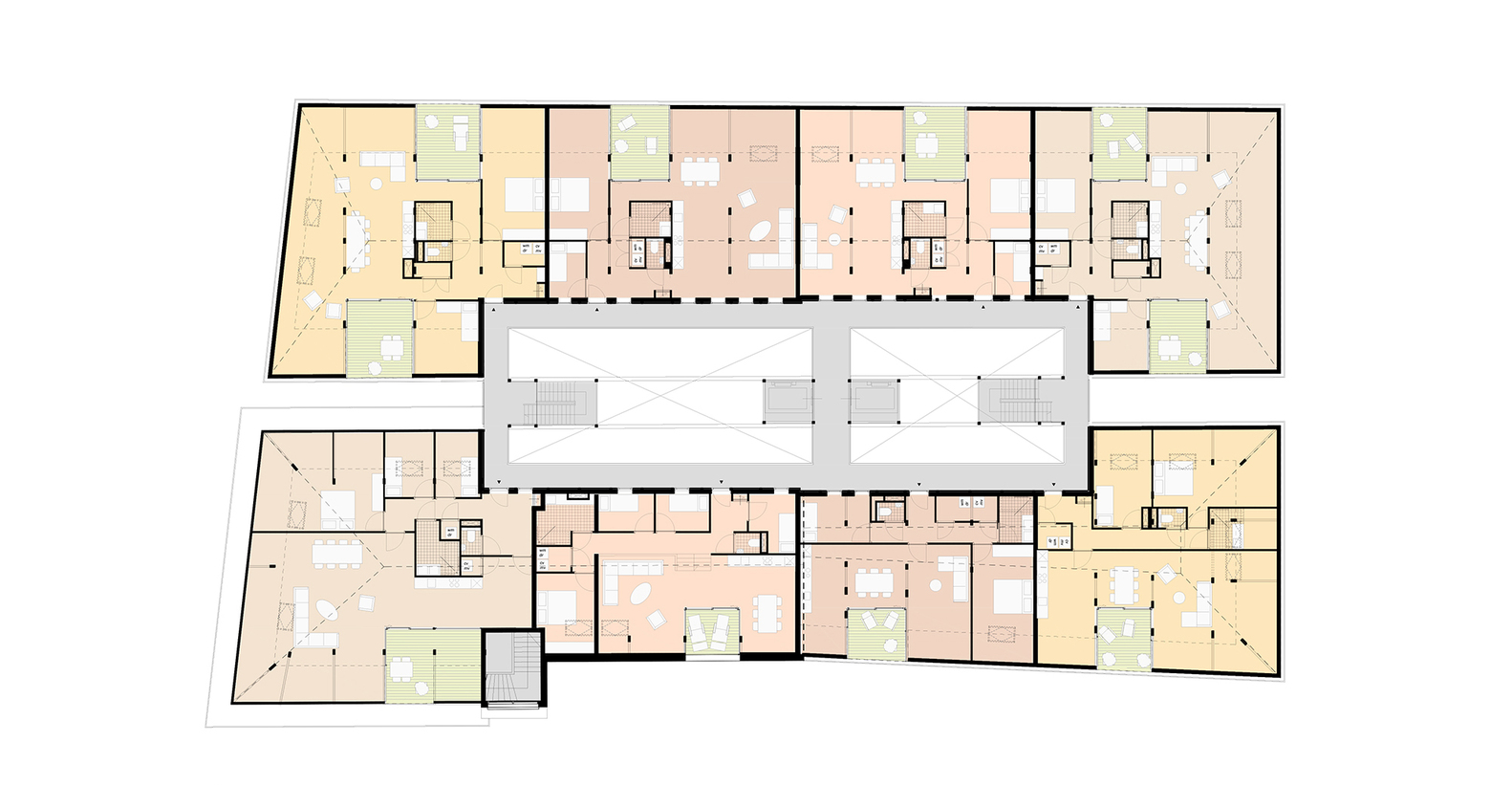 Gouda Cheese Warehouse Loft Apartments,Floor Plan 4
