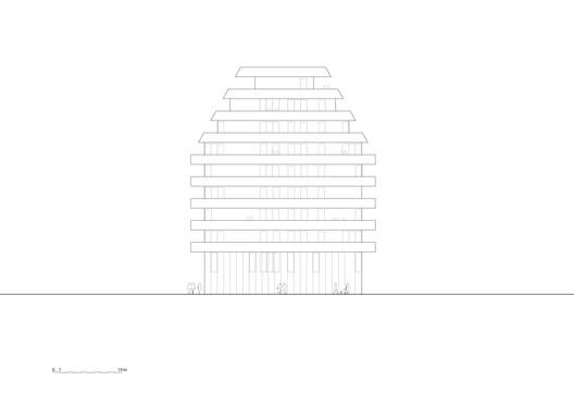 Elevation. Image © Reiulf Ramstad Arkitekter