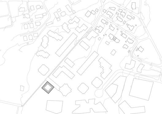 Site plan. Image © Reiulf Ramstad Arkitekter