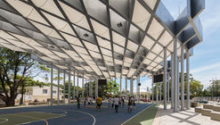Roof Prototype for Sports and Public Space / El Equipo Mazzanti