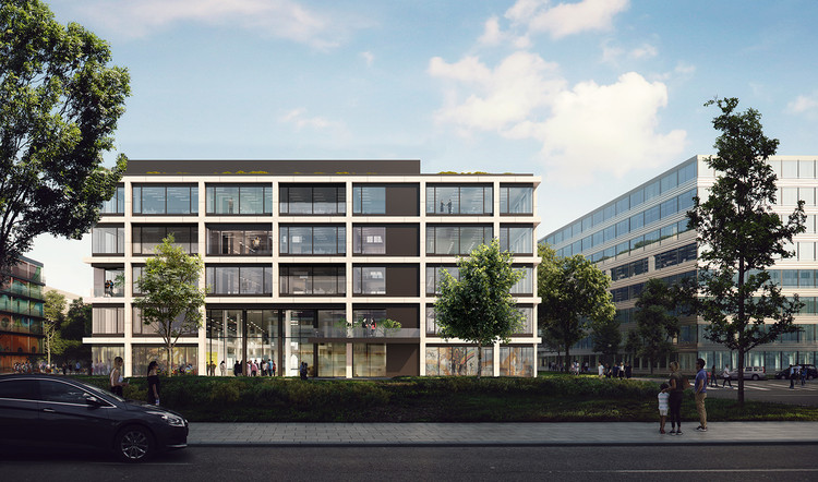 KAAN Architecten Designs New Facades For Munich's iCampus, Courtesy of KAAN press
