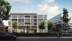 KAAN Architecten Designs New Facades For Munich's iCampus