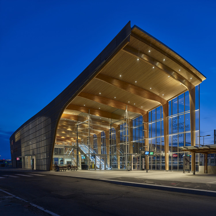 Centro Multimodal Lorient / AREP, © Didier Boy de la Tour