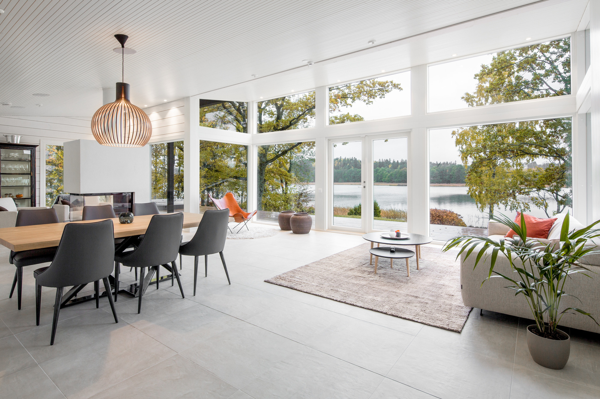 Log villa with a view on a coastal plot in Turku, Southwest Finland ...
