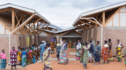 Image via screenshot from video. ImageMASS Design Group's Maternity Waiting Village in Malawi