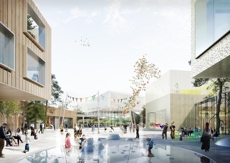 Schmidt Hammer Lassen vence concurso para centro comunitário e de esportes em Aarhus, Cortesia de Schmidt Hammer Lassen Architects