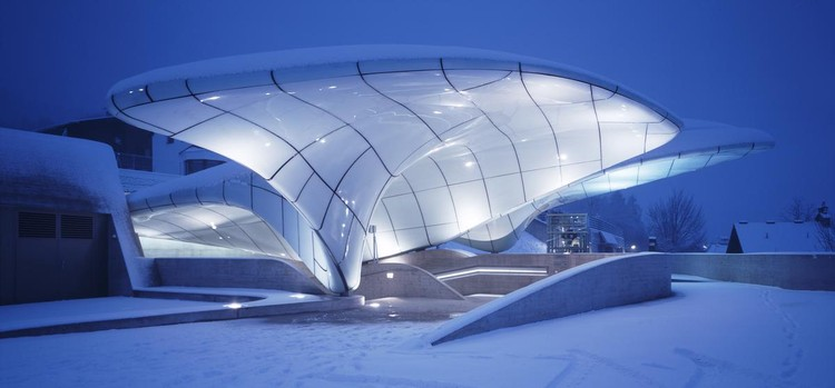 Zaha Hadid Architects' Hungerburgbahn Celebrates its 10 Year Anniversary , Courtesy of Zaha Hadid Architects