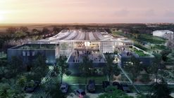 Clément Blanchet Architecture Designs Agriculturally Inspired Research Center for Carrefour in France's Silicon Valley