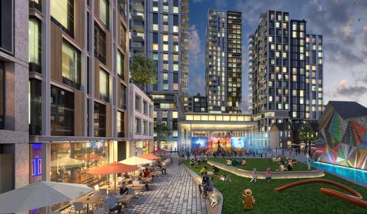 Mirvish Village. Image Courtesy of Henriquez Partners Architects