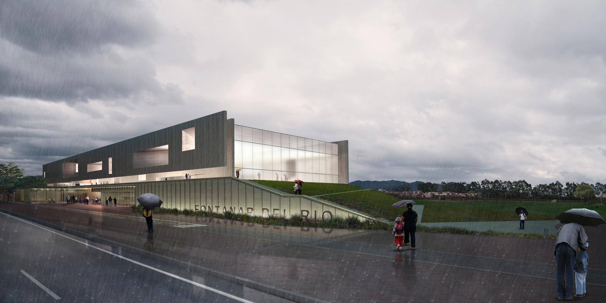 Conoce el dise o ganador de nuevo centro deportivo y for Plantas de colegios arquitectura