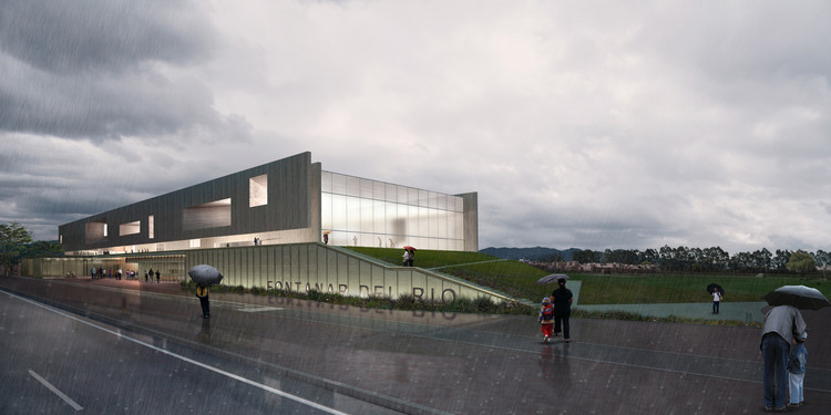 Conoce el diseño ganador de nuevo centro deportivo y cultural en el parque Fontanar del Río en Bogotá, Cortesía de Estudio Territorios