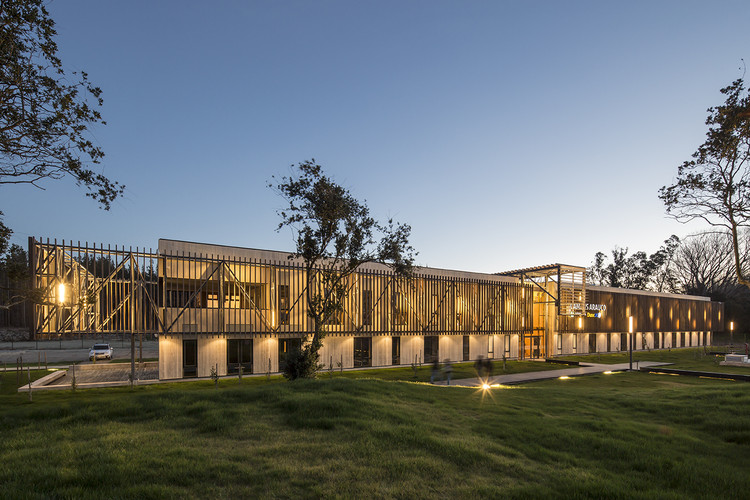 CFT ARAUCO DUOCUC / GDN Architects, © Aryeh Kornfeld