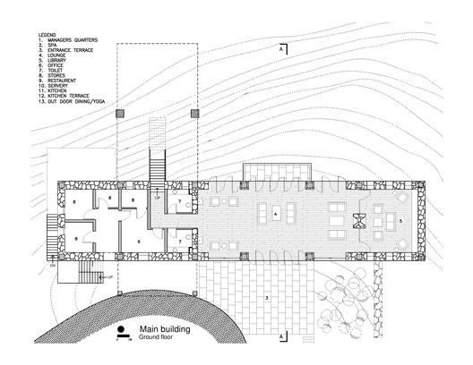 Ground Floor Plan - Main Building