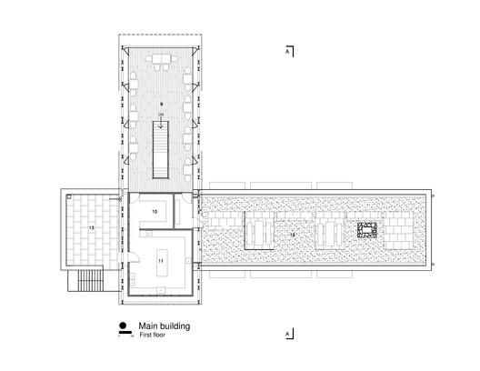 First Floor Plan - Main Building