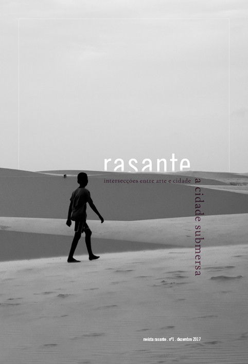 Revista Rasante: primeira edição, Foto da capa por Beatriz Crocco
