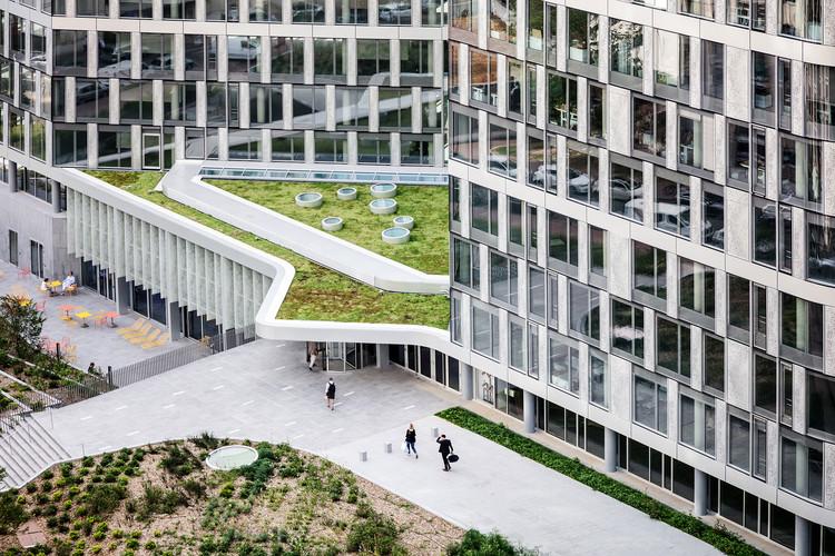 Ampère e+: Refurbishment of Sogeprom Headquarters / Ateliers 2/3/4/, © Charly Broyez