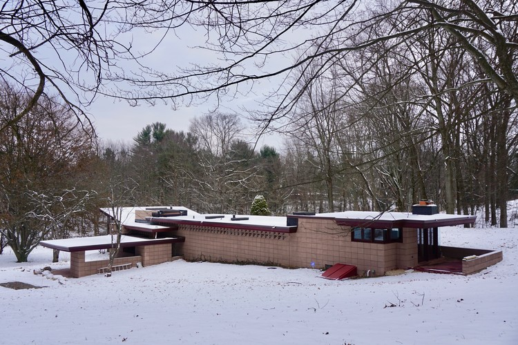Stay in a Recently Restored Frank Lloyd Wright Usonian Home, the Eppstein House, Courtesy of The Eppstein House