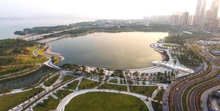 Shenzhen Talent Park / AUBE, Aerial View. Image © Jie Zhu, Mucong Li