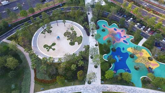 Playground. Image © Jie Zhu, Mucong Li