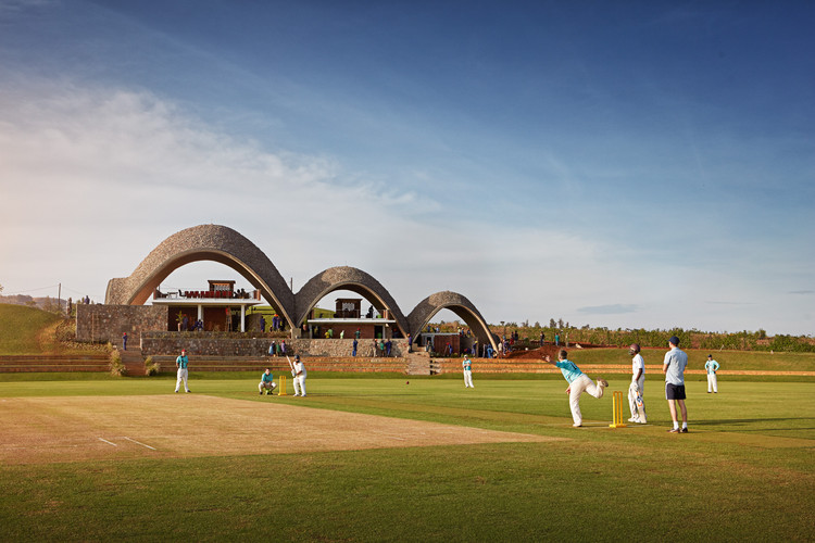 Rwanda Cricket Stadium / Light Earth Designs, © Johathan Gregson