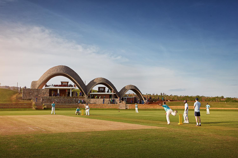 Rwanda Cricket Stadium / Light Earth Designs