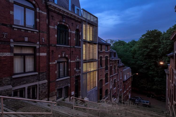 Jonquilles House  / Michel Prégardien Architecture, © Defourny Samuel