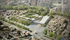Arquitectura en Estudio + Nomena Arquitectos, segundo lugar en diseño del Colegio Argelia II y Centro de la Bici