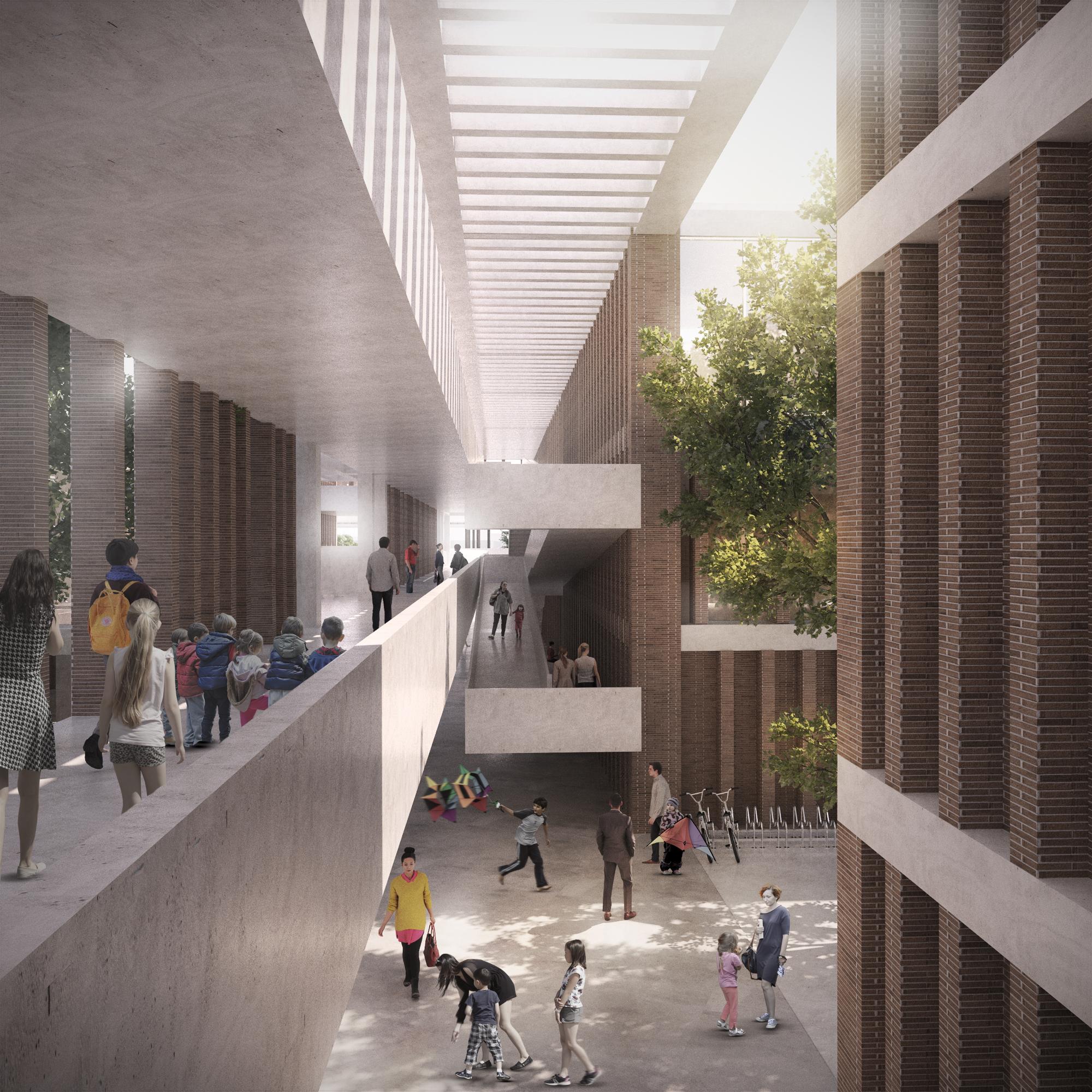 Galer a de arquitectura en estudio nomena arquitectos for Estudios de arquitectura la plata