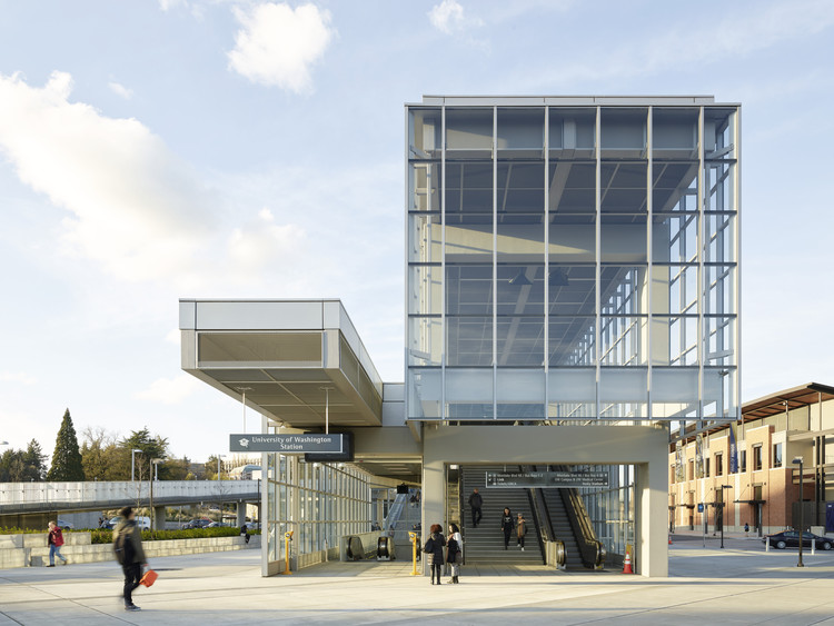 Sound Transit U Link University of Washington Station / LMN Architects, © Kevin Scott
