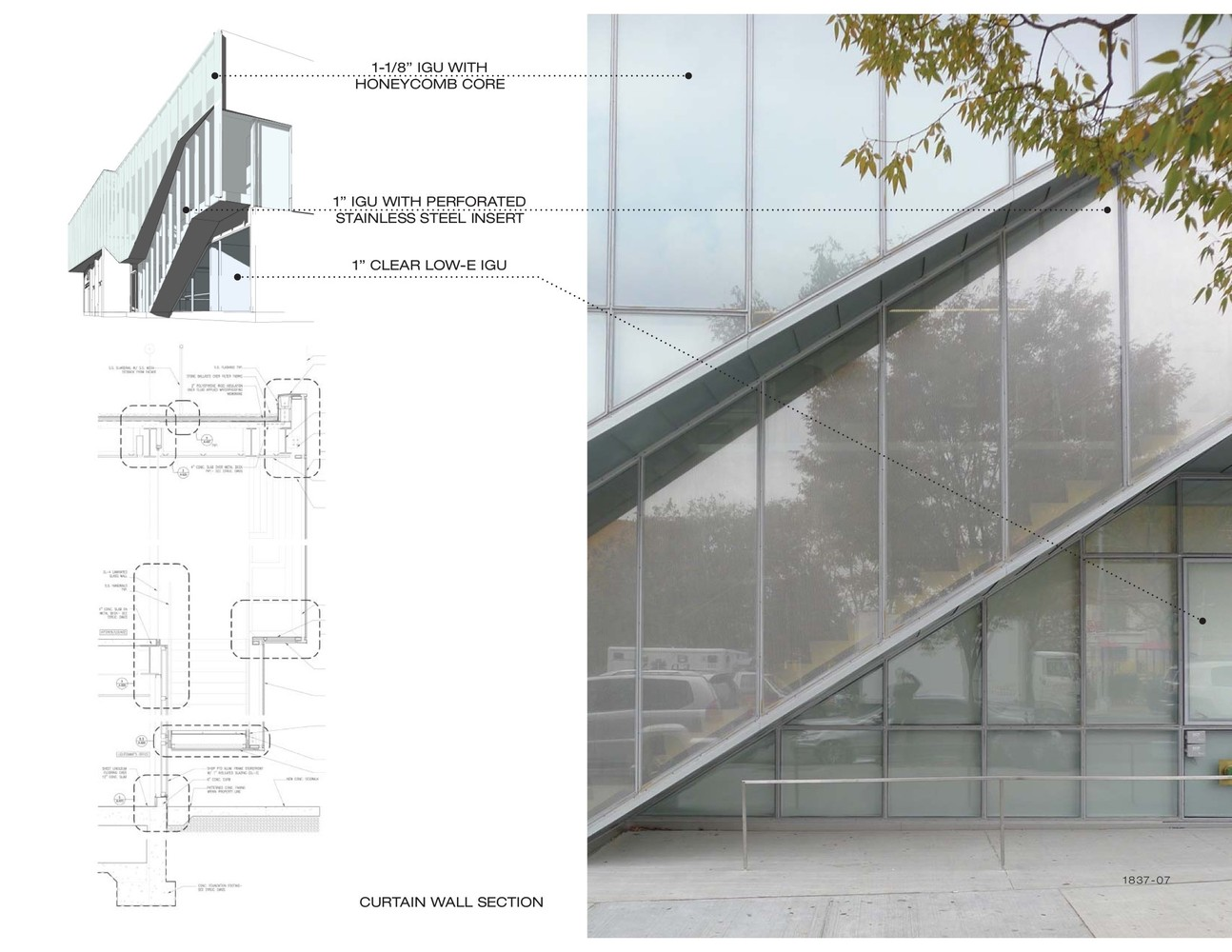 Greenpoint EMS StationCurtain Wall Diagram
