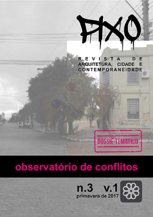 Chamada para a quarta edição da revista Pixo, Design: Edu Rocha, 2017