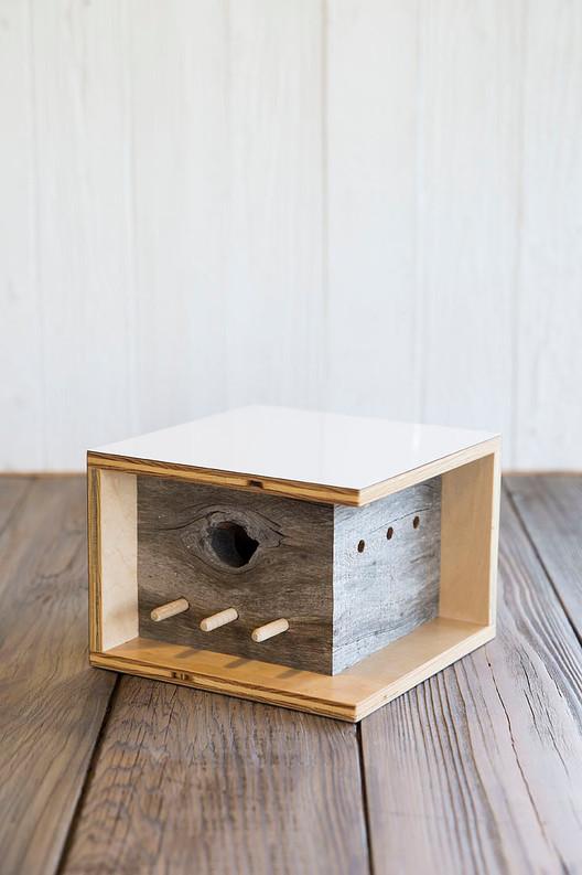 Seabright Bauhaus Birdhouse. Image via Sourgrassbuilt.com