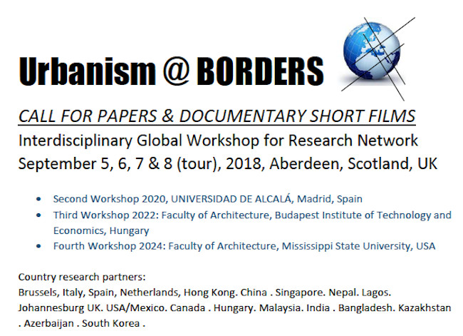 Call for Papers & Short Film: Urbanism at Borders, Urbanism at Borders