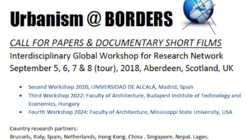 Call for Papers & Short Film: Urbanism at Borders