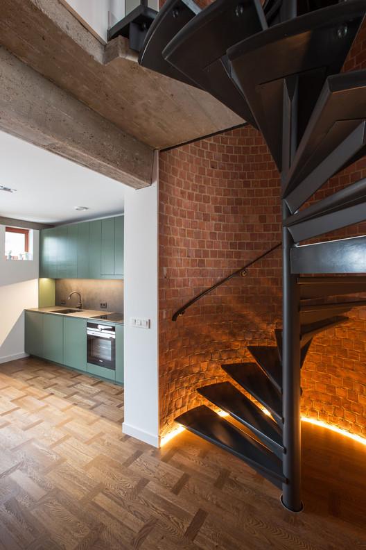 Brickwall / YCL studio, © Andrius Stepankevičius