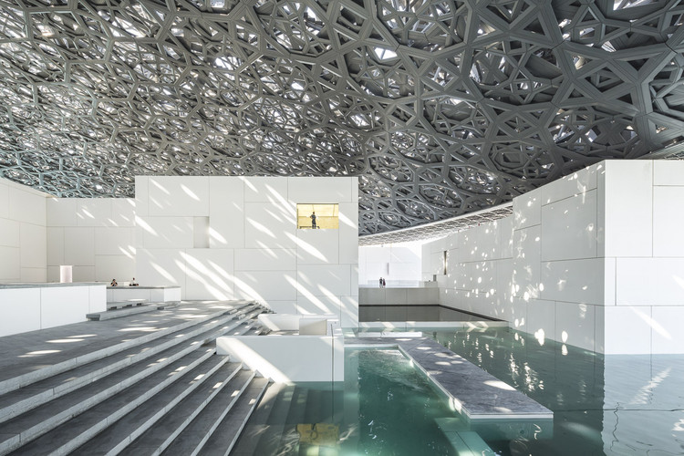The Engineering Behind The Louvre Abu Dhabi S Striking Geometric Dome Archdaily