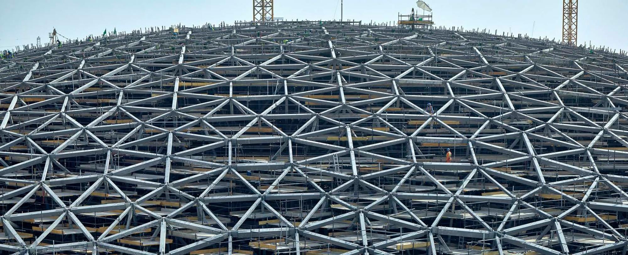 The Engineering Behind the Louvre Abu Dhabi's Striking