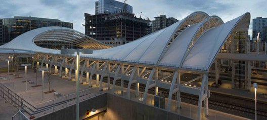 Denver Union Station / SOM. Image © Robert Polidori